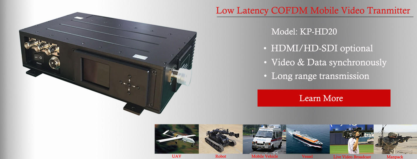 China best COFDM AV Transmitter on sales