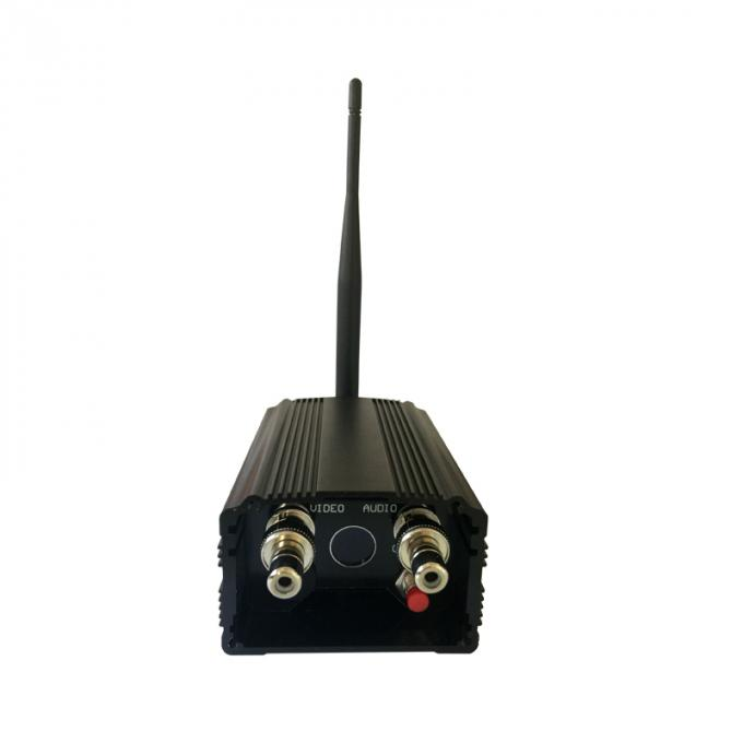 1200Mhz Analog Wireless Video Transmitter 2000mW Security Long Range Video Sender 8 Channels