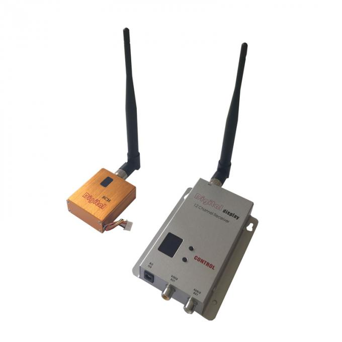 Miniature UAV / FPV Wireless Video Transmitter 10km LOS from air to ground 1.2Ghz 800mW