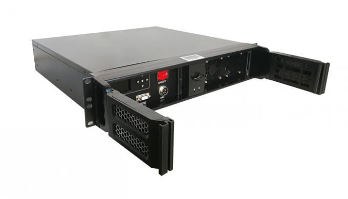 40 Watt HD COFDM Video Transmitter Video + Data Link For Military Long Range Mobile Communication