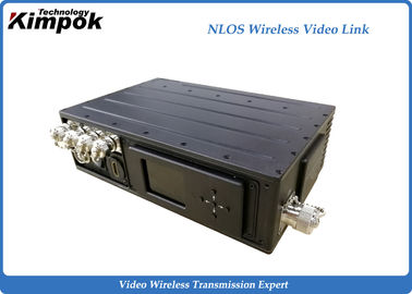China Long Distance 10 Watt Digital Wireless Video Transmitter HDMI / SDI / AV Low Delay Sender supplier