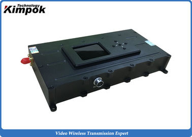 China UAV / UGV  COFDM Video Transmitter 5000mW Power For Long Distance Transmission supplier