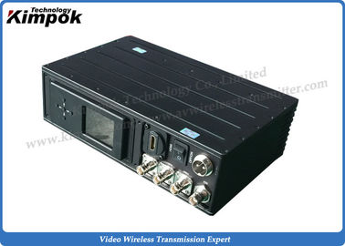 China Super Low Delay HD Wireless Transmitter HDMI + SDI + BNC COFDM AV Transmitter Long Distance supplier