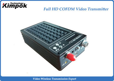 China Microwave HD Wireless Video Transmitter HDMI + SDI + CVBS 3 Ports for Body Worn Cameras supplier