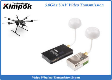 China AV Wireless 5.8Ghz Video Transmitter and Receiver , 9CH FPV Video Sender supplier