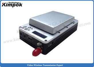 China 1080P HD UAV Video Link 195g Minimum COFDM Wireless Transmitter with Built-in Battery supplier