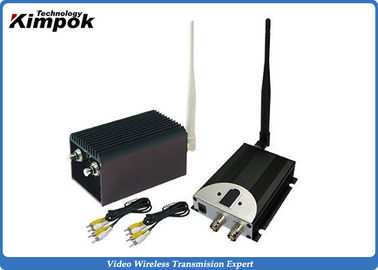China 60KM LOS UAV Video Transmitter and Receiver 1.2GHz Wireless Video System 8 Channels supplier