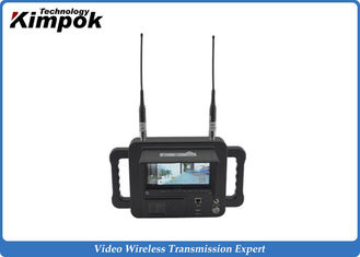 China Military Outdoor 2.4 Ghz Video Receiver / Handheld High Definition Wireless Digital Receiver supplier