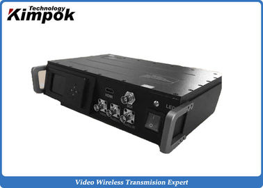 China UHF Digital Long Range Video Transmitter , 1080P HD Wireless Video Sender 40 Watt RF supplier