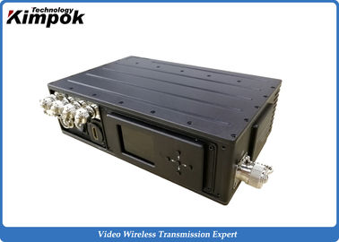 China COFDM Long Range Video Transmitter 5W Rugged NLOS Wireless Video Link Transmitter supplier