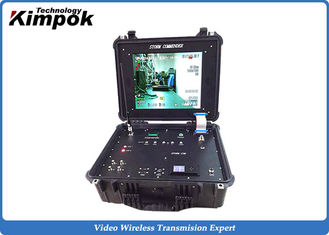 China Vehicle Mounted Ground Station COFDM Video Link Receiver RS232/RS485 4CH Surveillance Rx supplier