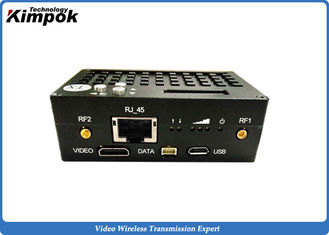 China 10km UAV Wireless Transceiver 1W RF Flying Video Transmitter HDMI + RJ45 + RS-232/RS-485/RS422 supplier