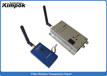 China 12 Channels Analog Wireless Video Transmitter 1000mW Long Range Transmitter and Receiver supplier