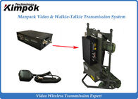Manpack Speed Wireless Video Transmitter Long Distance Broadcasting Transmission System