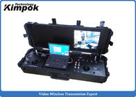 China RS232 / RS485 UAV Ground Base Station H.264 COFDM Video Receiver DVR factory
