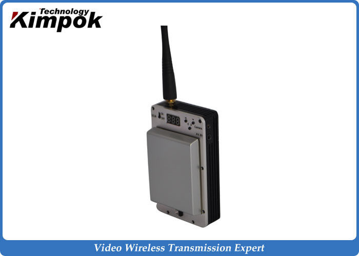 Mini Long Range Wireless Video Transmitter HD COFDM UAV Link with LCD Display