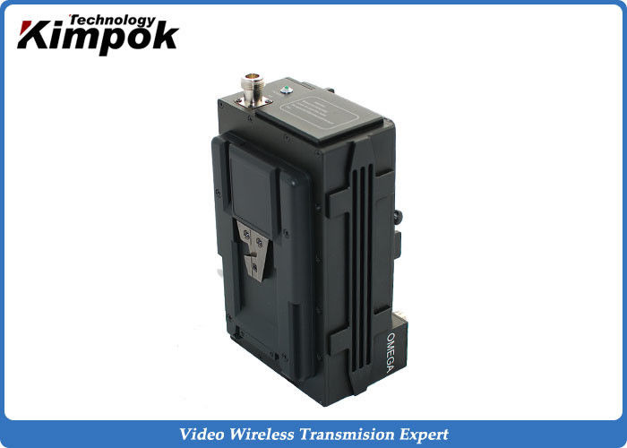 720P COFDM Digital Video Transmitter , 5W RF Wireless Video Audio Sender with Backpack