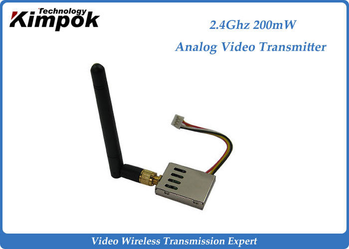 16g Super Lightweight FPV Link 2.4Ghz Wireless Video Transmitter and Receiver 8 Channels