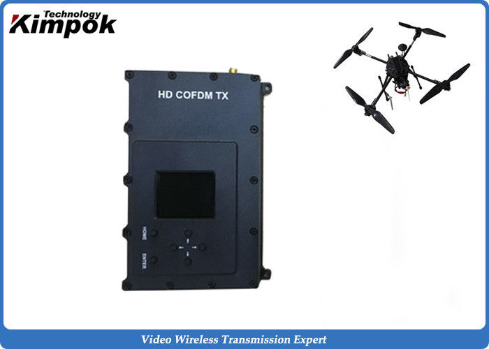 300-999Mhz Drone Video Transmitter Microwave Surveillance Wireless Video Transmission Equipment