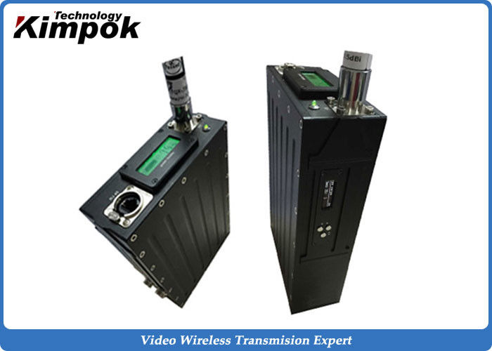 330-530MHz Wireless Digital Transceiver 921600 bps Real - time Vehicle IP Transmission