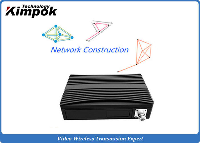 340MHz Wifi and 3G / 4G COFDM IP Mesh Full Duplex TDD Wireless Transceiver