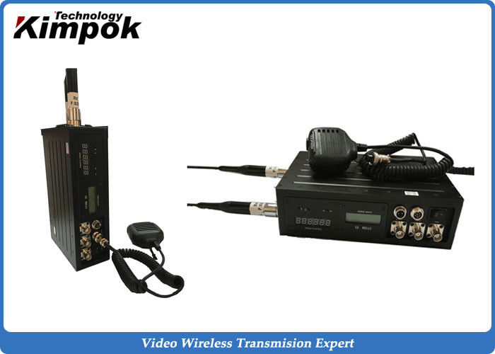 Video and Two-way Communication NLOS Long Range Video Sender 450km/h High-speed