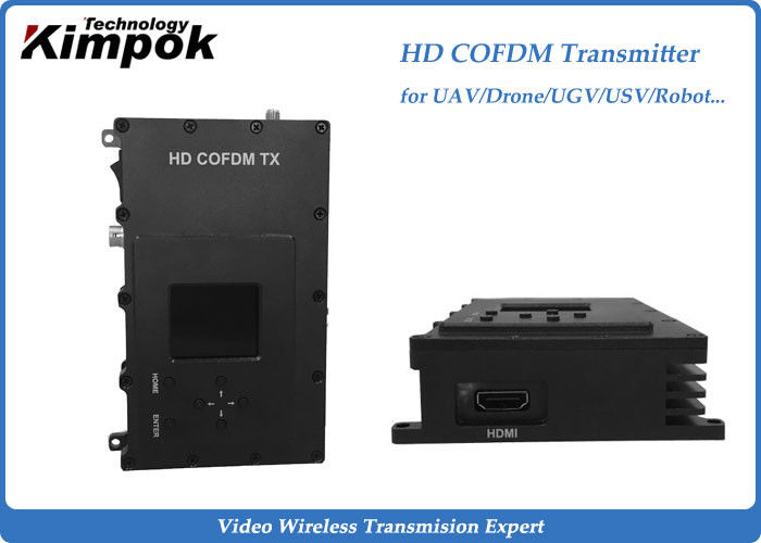 DVB-T Digital Wireless AV Transmitter Receiver HD COFDM Transmitter with 3 Watt