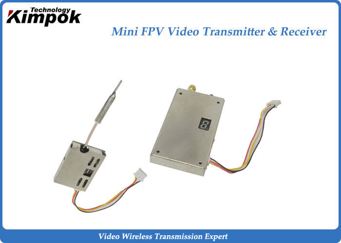 5.8Ghz Analog Wireless Transmitter 200mW Mini CCTV Video Transmitter and Receiver 9 Channels