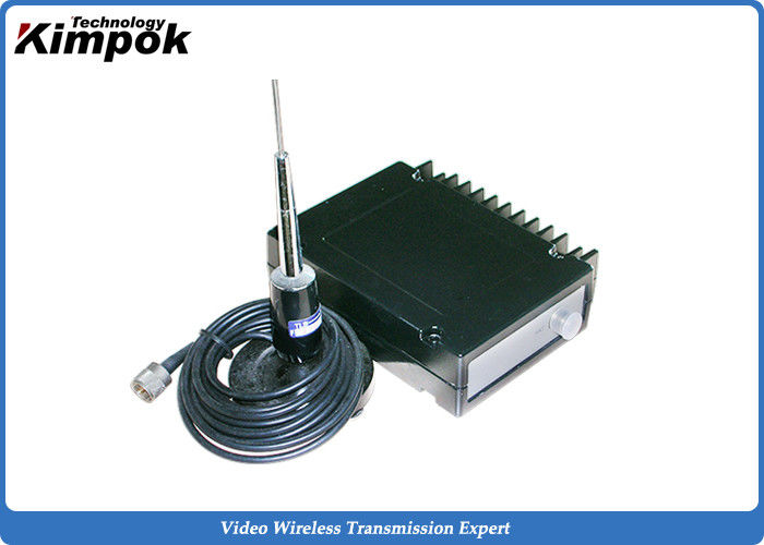 High Power 30W Wireless Data Radio FSK Modulation Long Distance RS232 / TTL