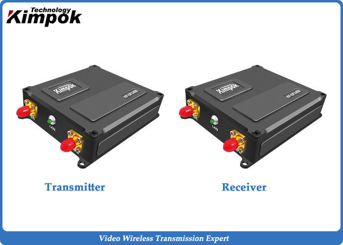 Miniature COFDM Video Transmitter for UAV / Drones 40km LOS Long Range Wireless Transceiver with Data Transmission