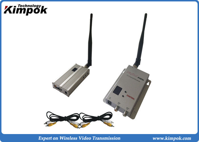 900Mhz Long Range Wireless Video Transmitter And Receiver 3 4km For CCTV Surveillance