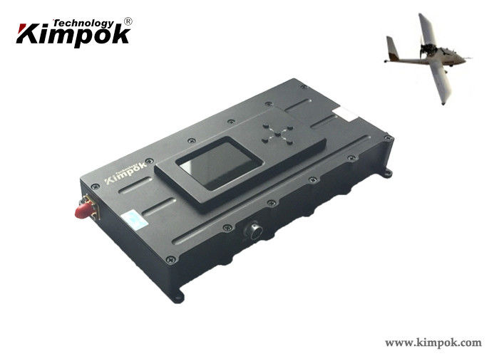 60km LOS UAV Video Link 3W HD COFDM Video Transmitter H.265 Video Coding