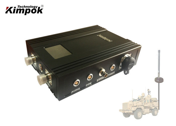 Long Range UGV COFDM Wireless Transmitter 3km NLOS Video Sender with Encryption