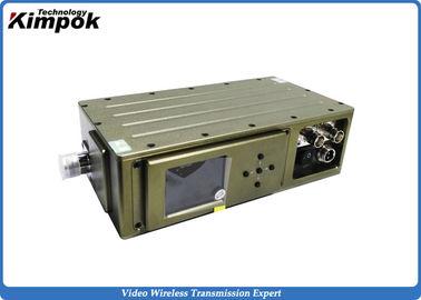 NLOS COFDM Broadcast AV Sender 2W - 5W Adjustable Digital Video Transmitter with Encryption