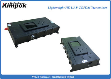 China 515g Leightweight COFDM Wireless Transmitter NLOS Camera Video Sender Encryptioned factory