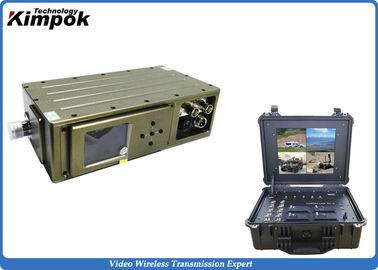 300-900mHz Mobile COFDM Transmitter , 5000mW USV Long Range Video Transmission