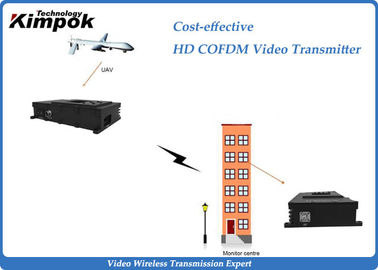 China Full HD Wireless Transmitter And Receiver , 1080P HD UAV Video Transmitter with 3 Watt factory
