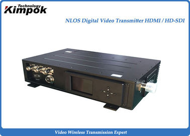 China 5.8 Ghz HD 10-20W COFDM Transmitter , Low Latency Wireless Transmission System factory
