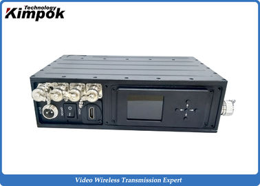 Military COFDM HD Video Transmitter 256 Bit Encryption NLOS Digital Video Transmitter with 5W
