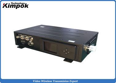 AV COFDM Video AV Wireless Transmitter , 15W High Power Wireless Video UGV Sender
