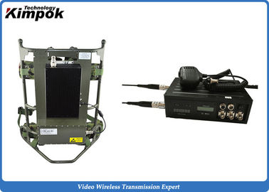 8 Channels 2.4 Ghz Wireless Video Transmitter 4000m 2000mw For CCTV System