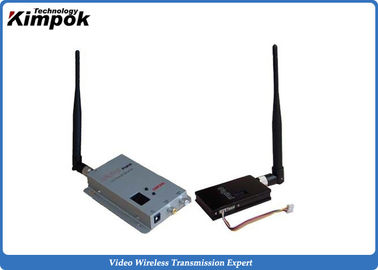 8 Channels Long Range Wireless Video Sender 2.4Ghz Video Transmitter and Receiver 1500mW