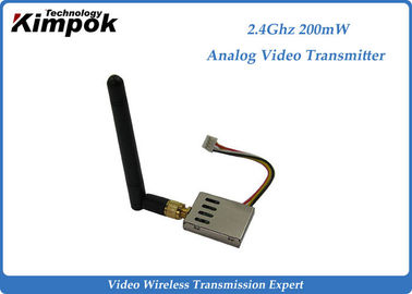 China 16g Super Lightweight FPV Link 2.4Ghz Wireless Video Transmitter and Receiver 8 Channels factory