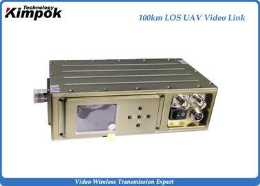 300~4400Mhz HD UAV Video Transmitter 100km LOS Long Distance COFDM Transmitter