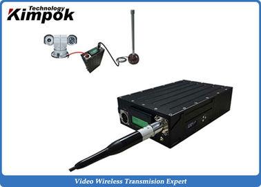 RJ45 Port TDD Transceiver 6.5 Mbps Video & Data Wireless Link 5W IP Sender