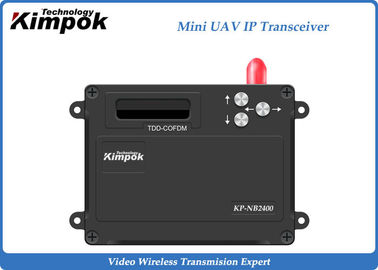 2.4Ghz Mini UAV TDD Transceiver Video + Data IP Transmitter and Receiver 1 Watt