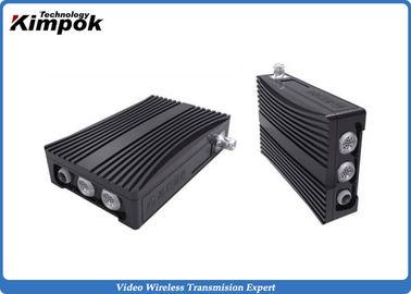 NLOS COFDM IP Mesh 100~1000MHz Mobile Wireless Video Communication Transceiver