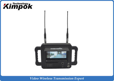 China Military Outdoor 2.4 Ghz Video Receiver / Handheld High Definition Wireless Digital Receiver factory