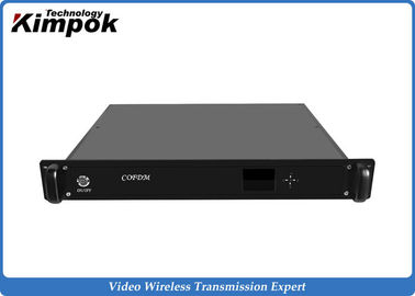 China 720P Wireless Audio Video COFDM Receiver 300MHz-900MHz Broadcast Receiver factory