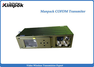 HD-SDI Wireless COFDM Video Transmitter for Broadcast and Command Vehicle